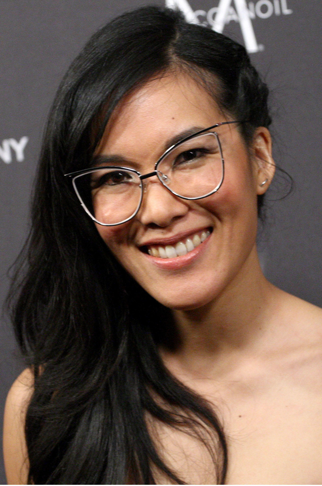 Ali Wong at The Weinstein Company and Netflix Golden Globe Party in Beverly Hills, CA.