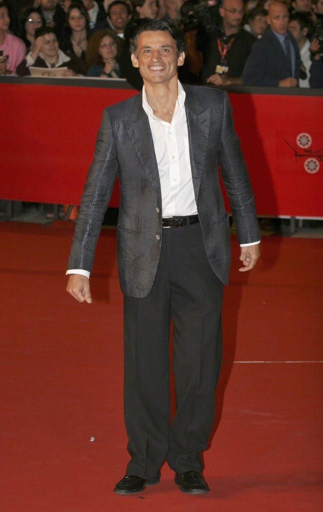 Enrico Lo Verso at the premiere of