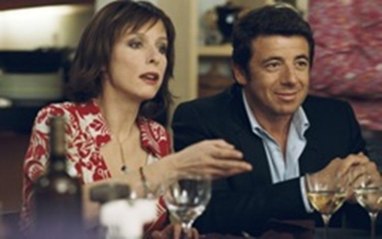 Karin Vaird as ML and Patrick Bruel as Alain in