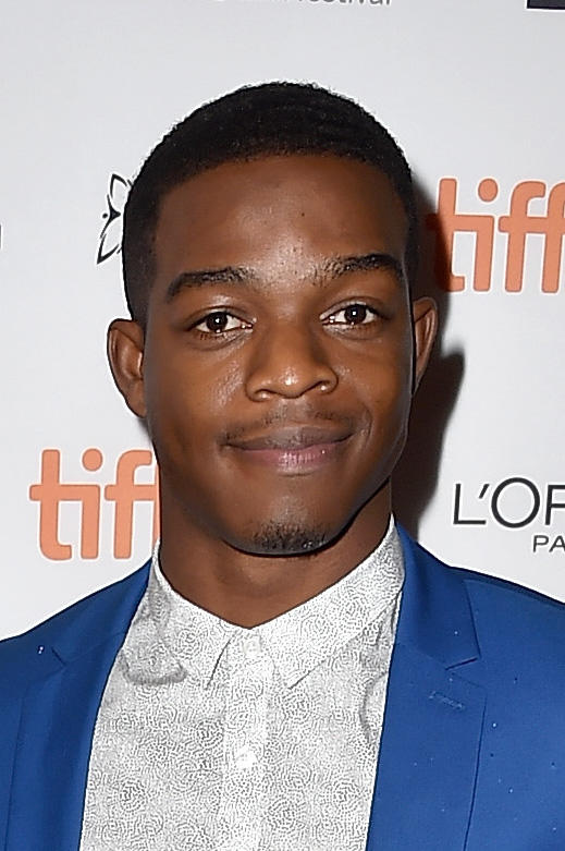 Stephan James at the 'Into the Forest' premiere during the 2015 Toronto International Film Festival.