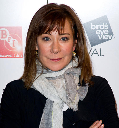 Zoe Wanamaker at the opening night of the Birds Eye View Film Festival in England.