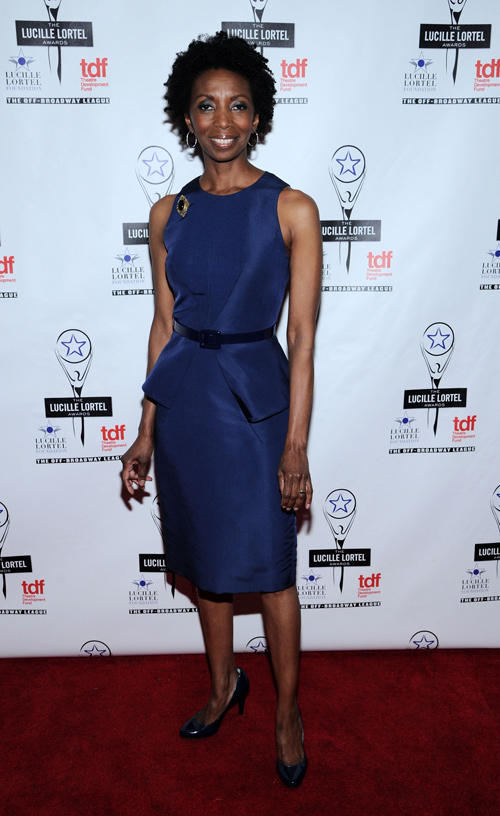 Sharon Washington at the 28th Annual Lucille Lortel Awards.