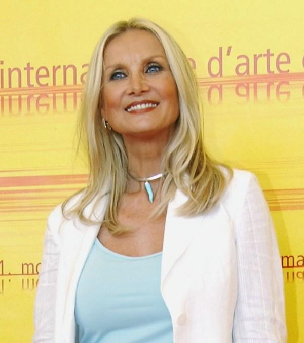 Barbara Bouchet at the photocall of