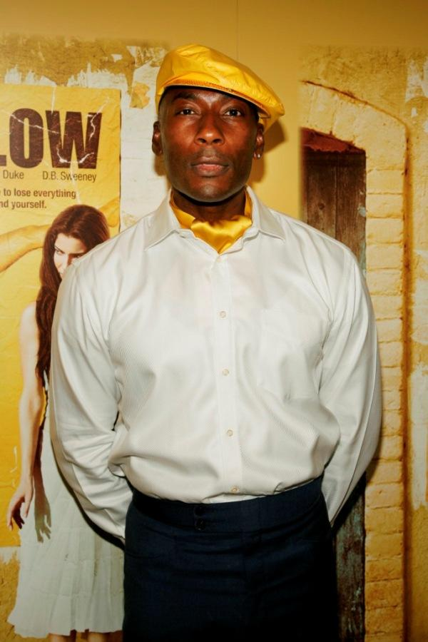Carlton Wilborn at the premiere of
