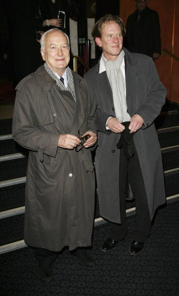James Ivory and James Wilby at the UK premiere of