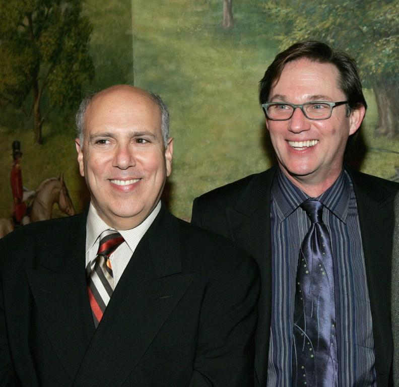 Lee Wilkof and Richard Thomas at the after party of the opening night of