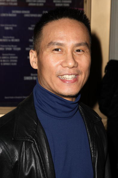 B.D. Wong at the opening night of