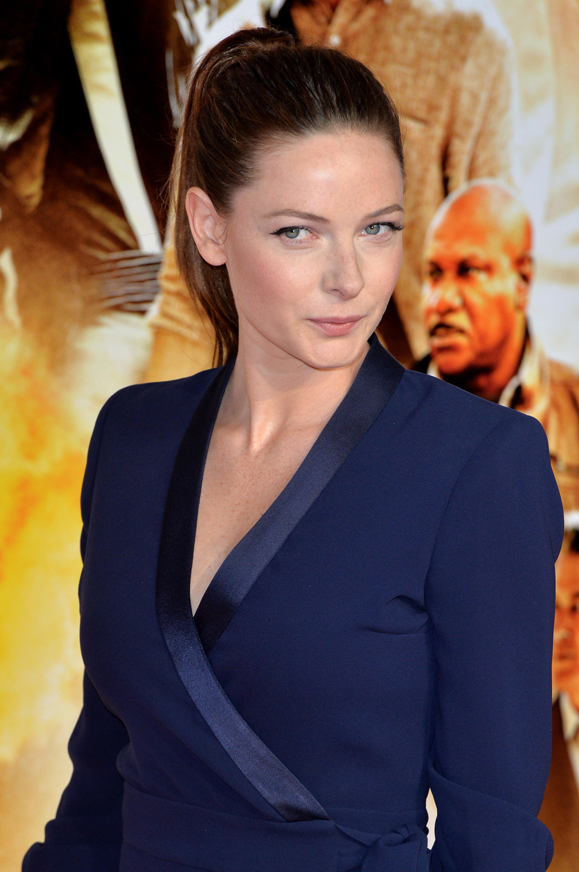 Rebecca Ferguson at the exclusive screening of 'Mission: Impossible Rogue Nation'.
