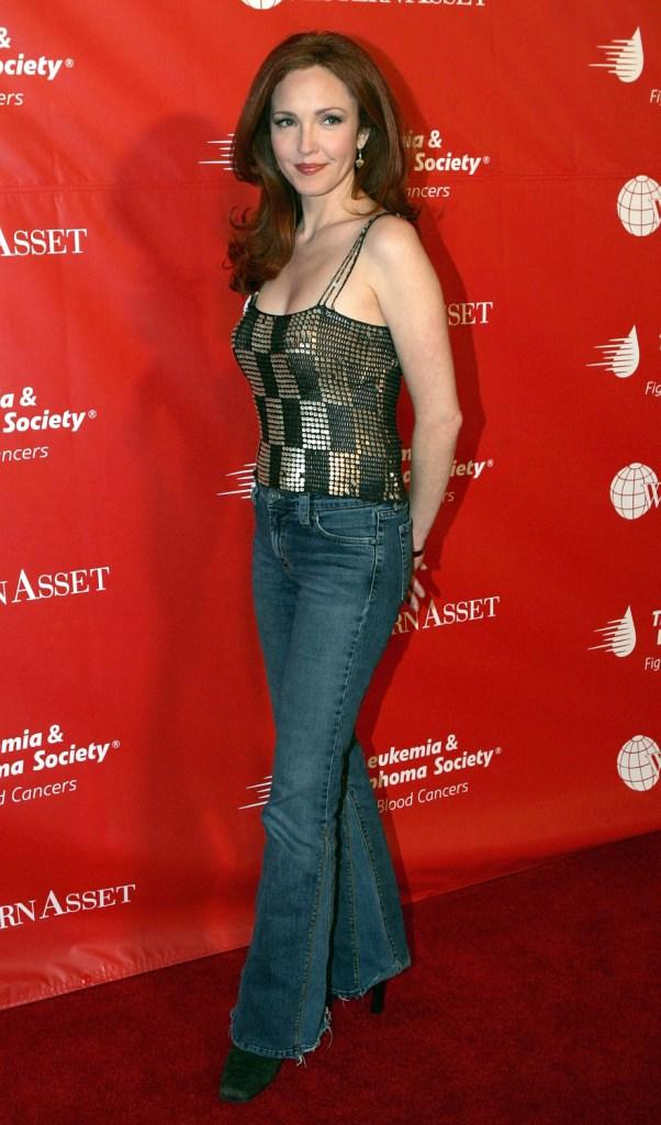 Amy Yasbeck at the Innaugural Celebrity Rock
