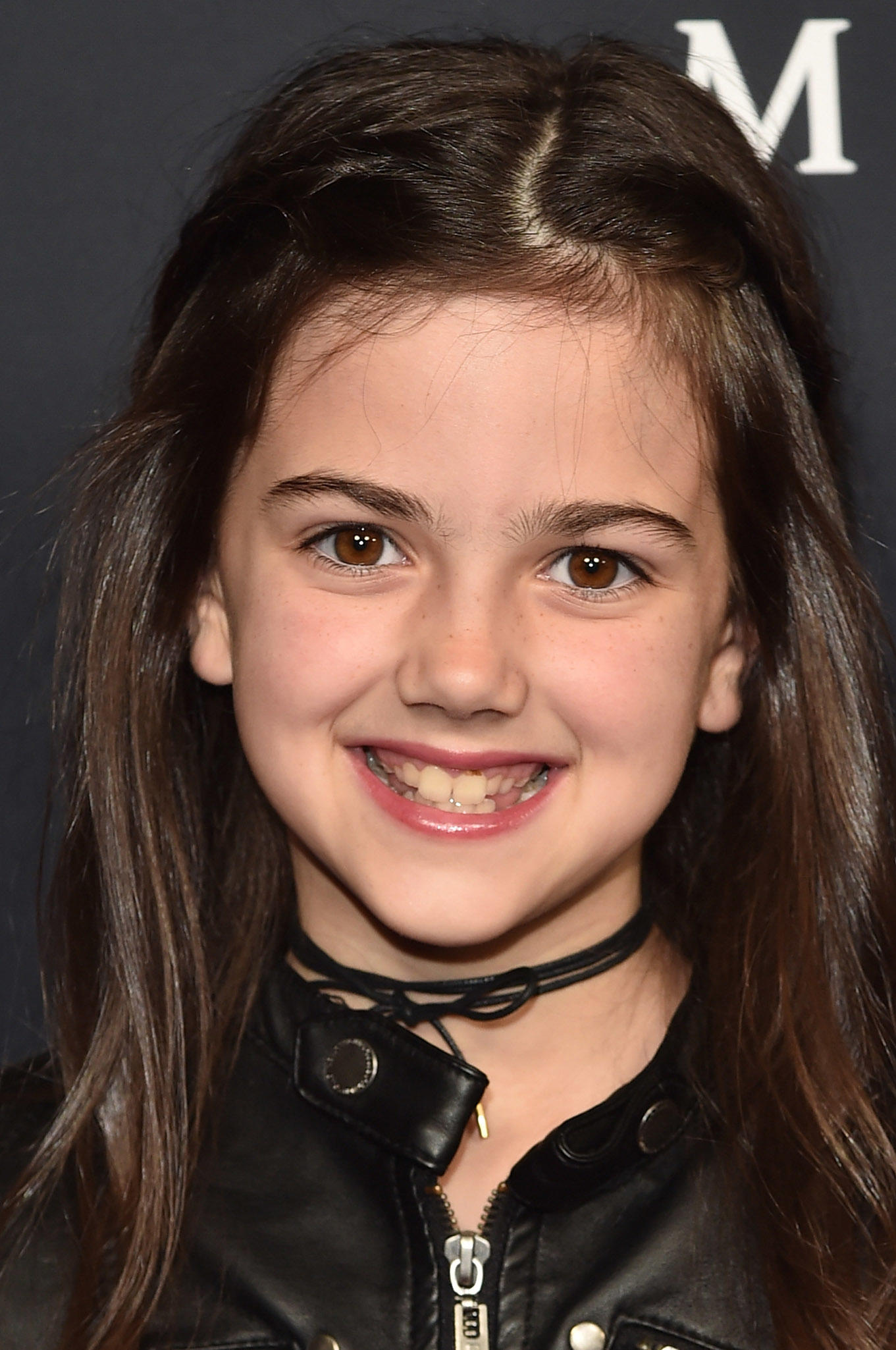 Abby Ryder Fortson at the premiere of
