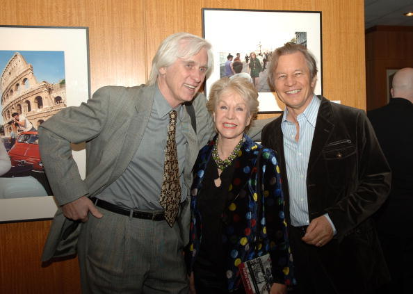Douglas Kirkland, Patricia York and Michael York at the Grand Opening AMPAS Winter 2008 Exhibitions.