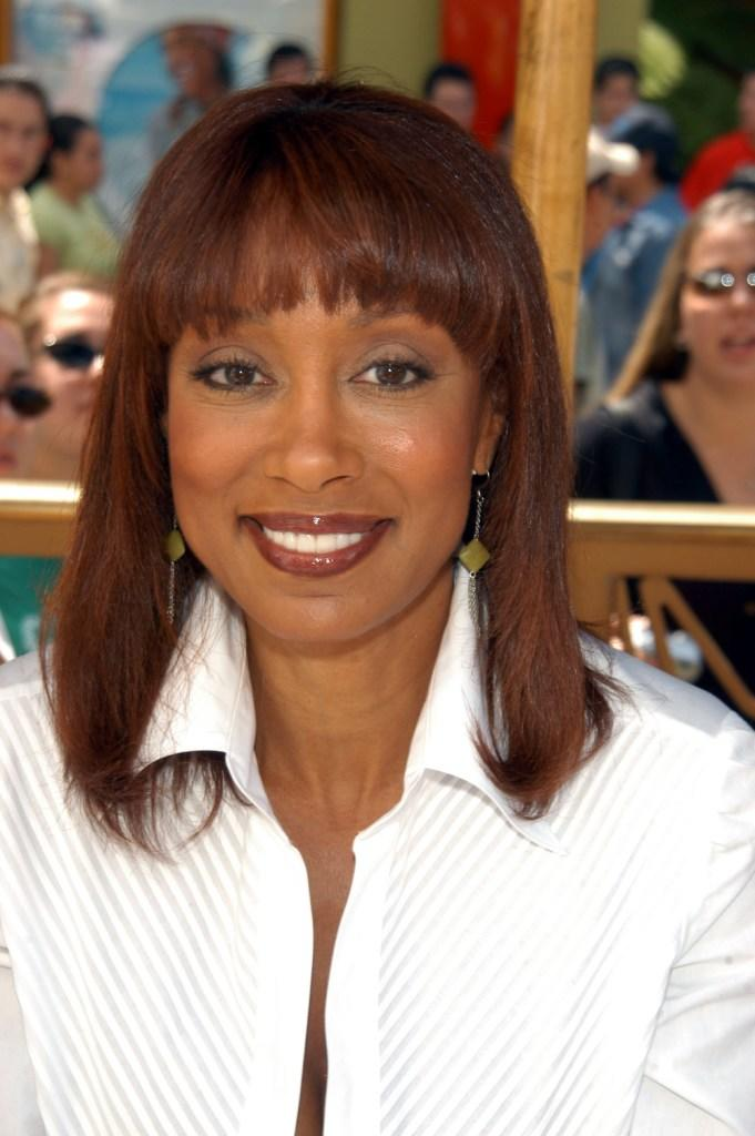 Tanya Boyd at the second day of NBC's Fan Festival 2004.