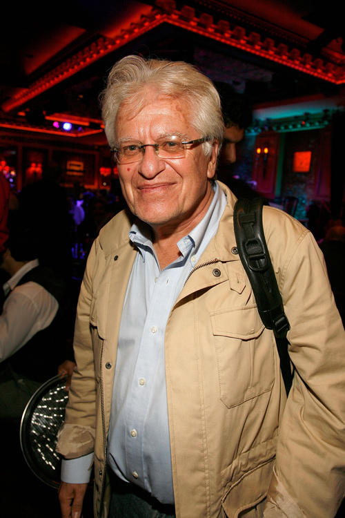 Jerry Zaks at the Patti LuPone's performance 54 Below in New York.