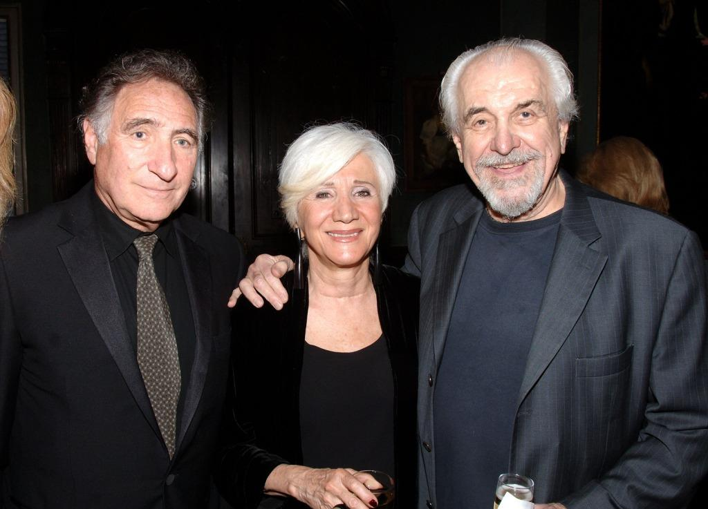 Judd Hirsch, Olympia Dukakis and Louis Zorich at the National Arts Club celebration honoring Olympia Dukakis.