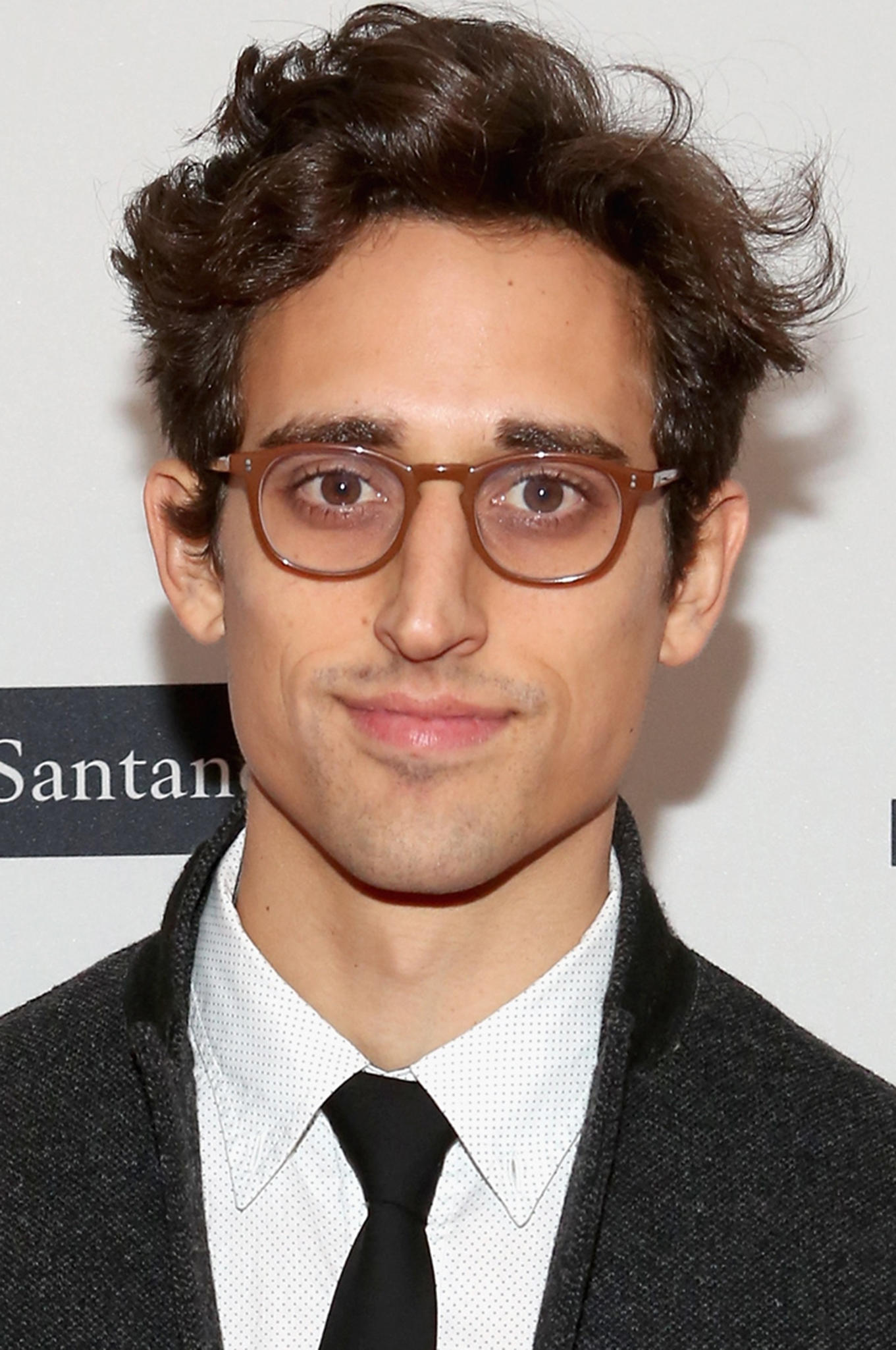 Justin Peck at the Tribeca premiere of