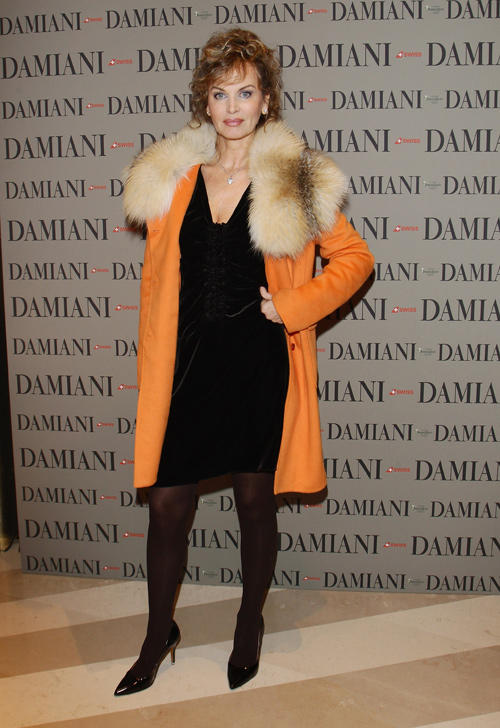Dalila di Lazzaro at the Cocktail party of Damiani Flaghip Store in Italy.