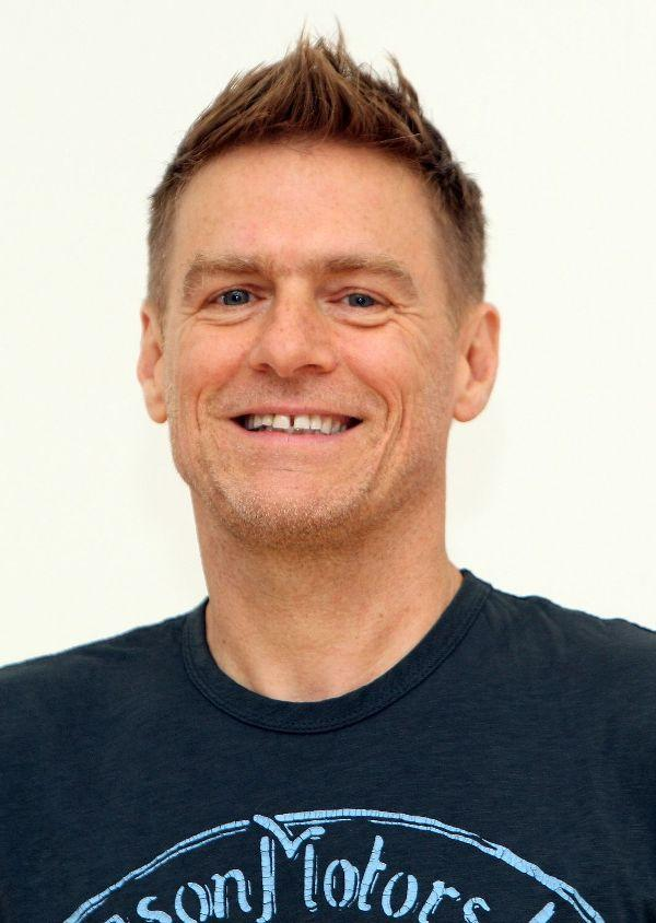 Bryan Adams at the photography exhibition of