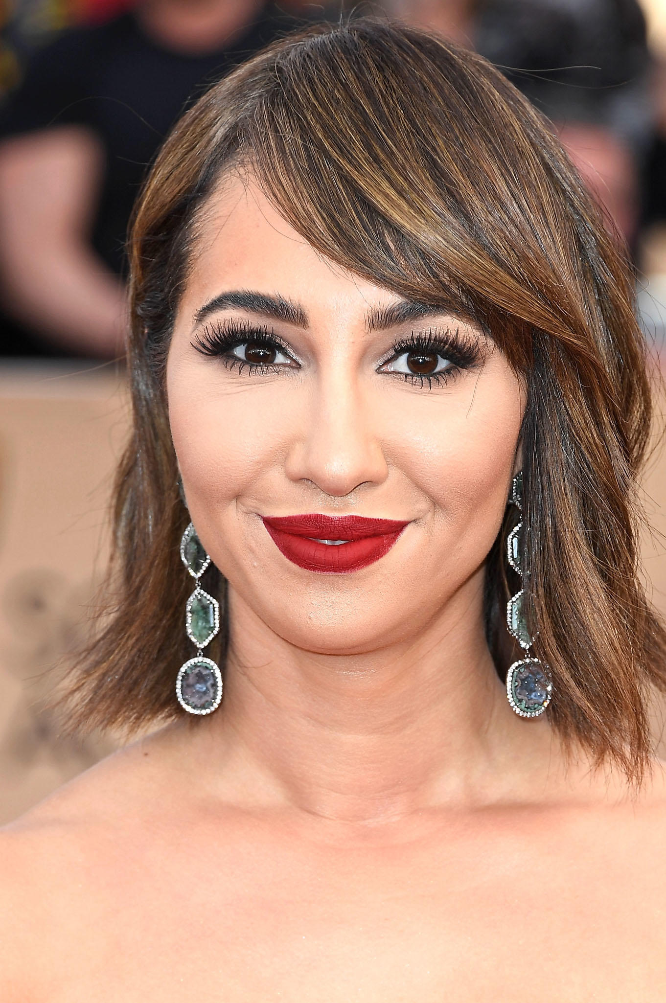 Jackie Cruz at the 23rd Annual Screen Actors Guild Awards in Los Angeles.