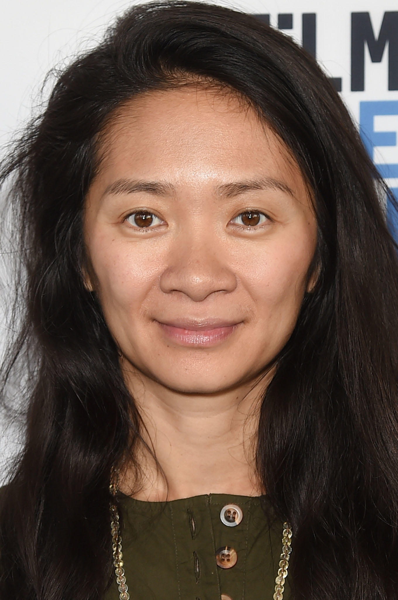 Chloe Zhao at the Film Independent Spirit Awards Nominee Brunch in West Hollywood, California.