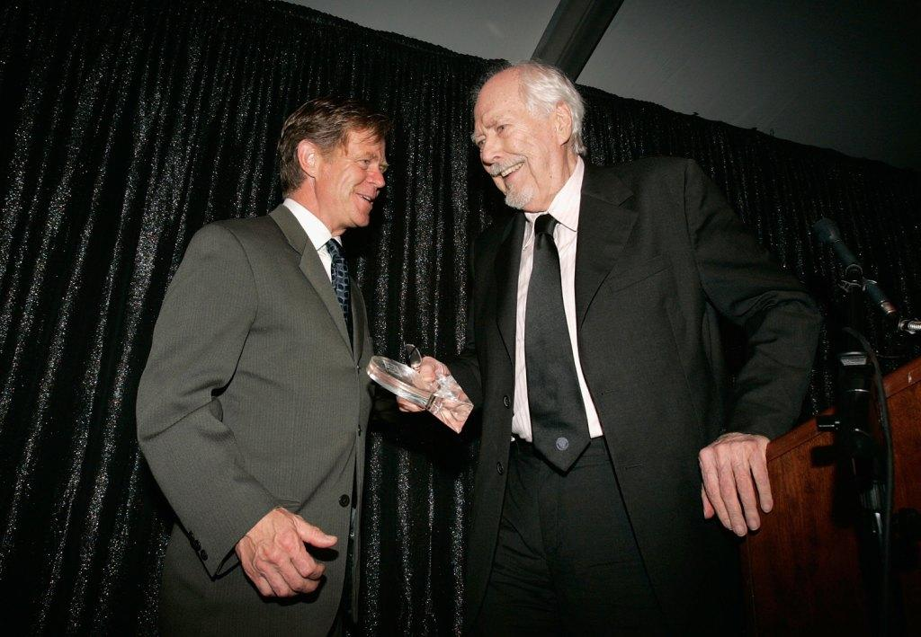 Robert Altman and William H. Macy at the Tribute Dinner - Sarasota Film Festival 2006.