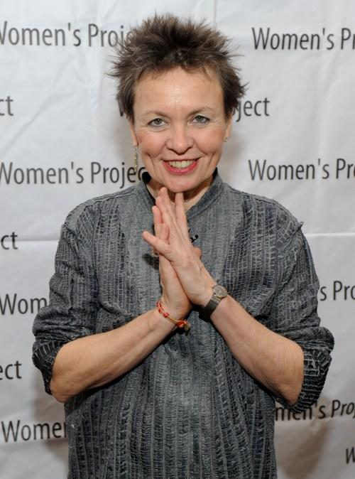 Laurie Anderson at the Women's Project Women of Achievement Awards.