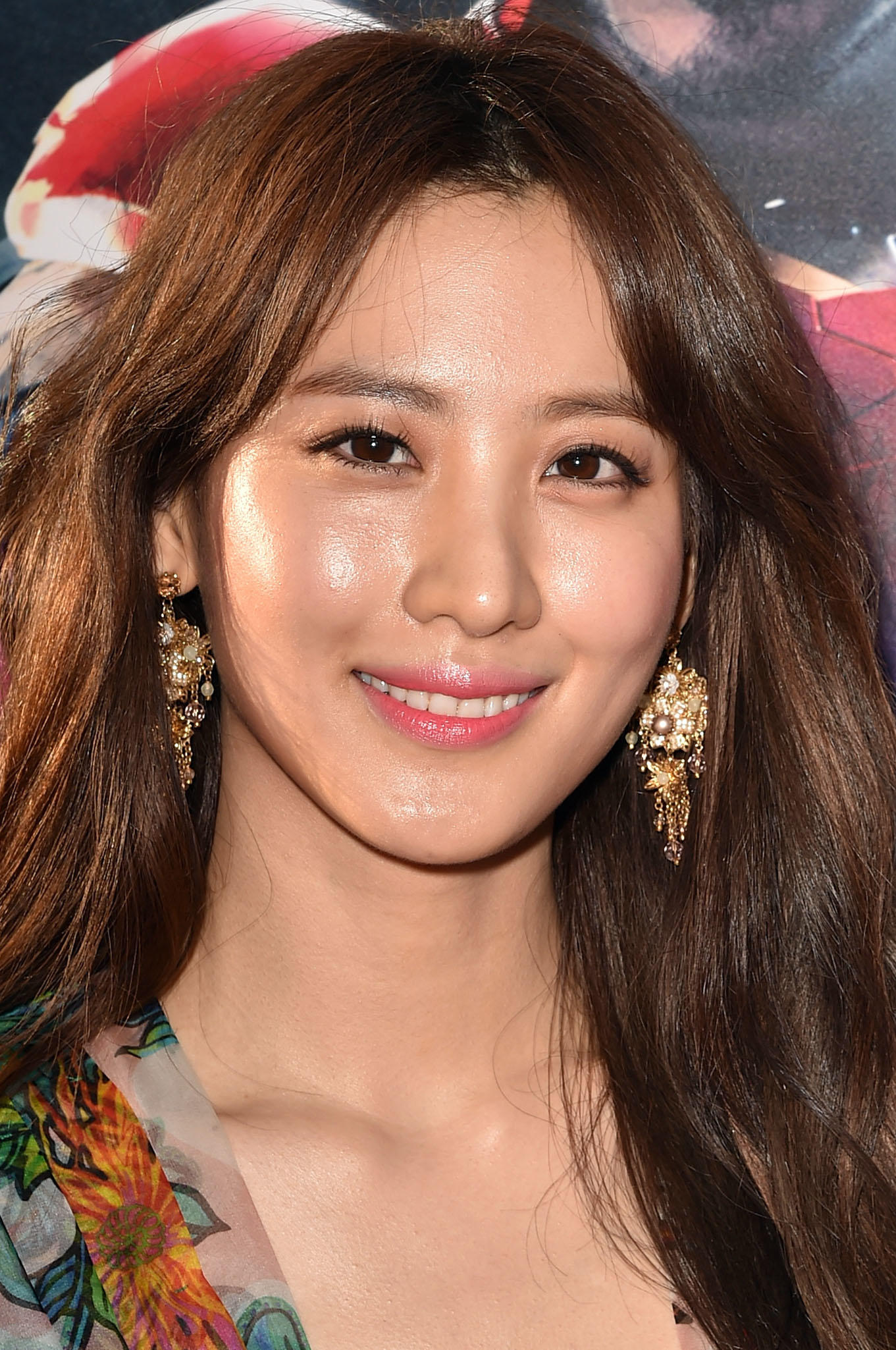 Claudia Kim at the premiere of