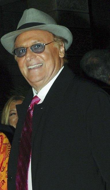 Renzo Arbore at the opening night of Rome Film Festival.