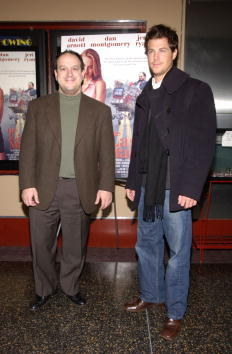 David Arnott and Dan Montgomery at the premiere of
