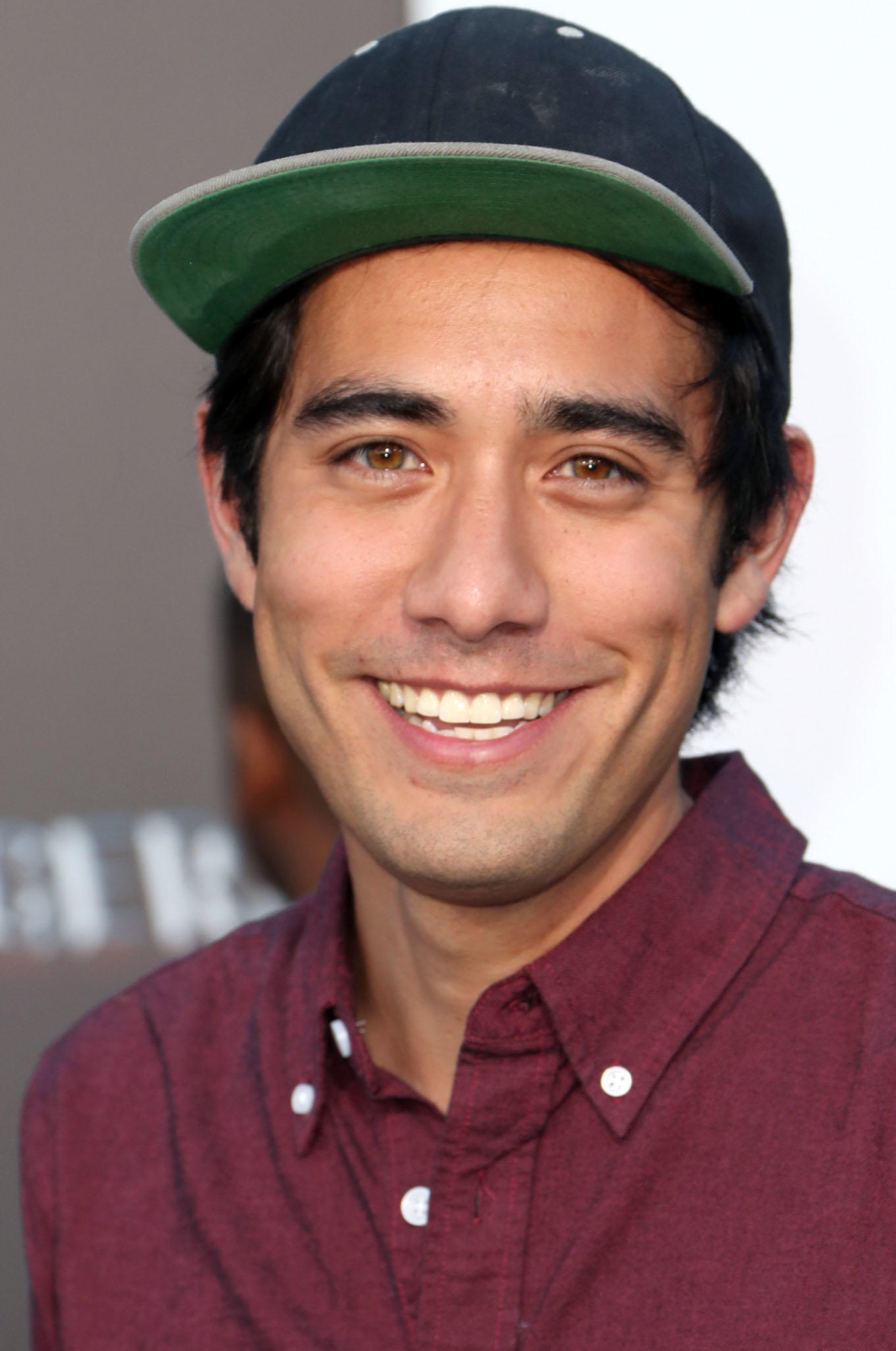 Zach King at the premiere of