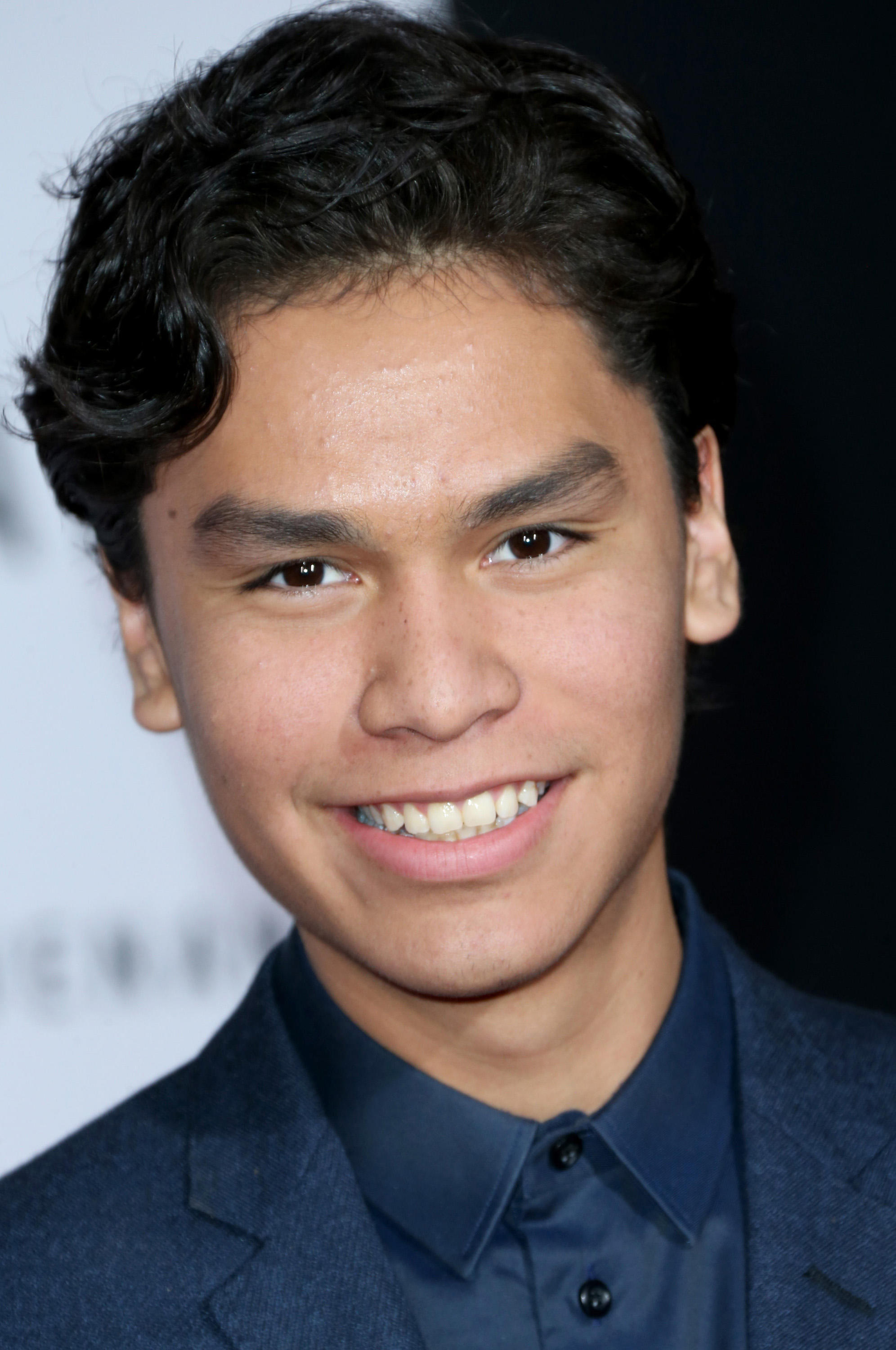 Forrest Goodluck at the premiere of 20th Century Fox and Regency Enterprises' 'The Revenant' at the TCL Chinese Theatre.