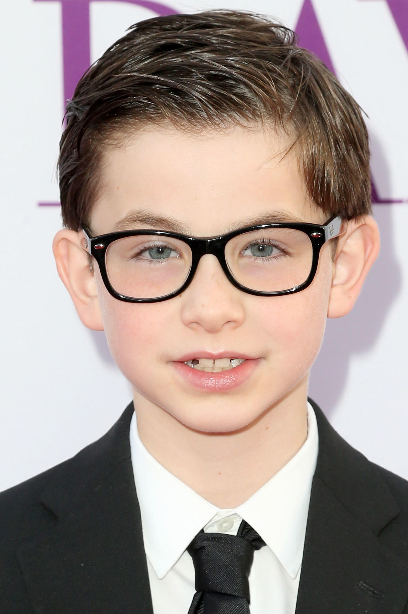 Owen Vaccaro at the premiere of
