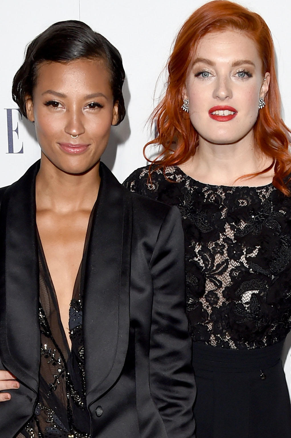 Aino Jawo and Caroline Hjelt of Icona Pop at the 22nd Annual Elle Women in Hollywood Awards in Beverly Hills, CA.