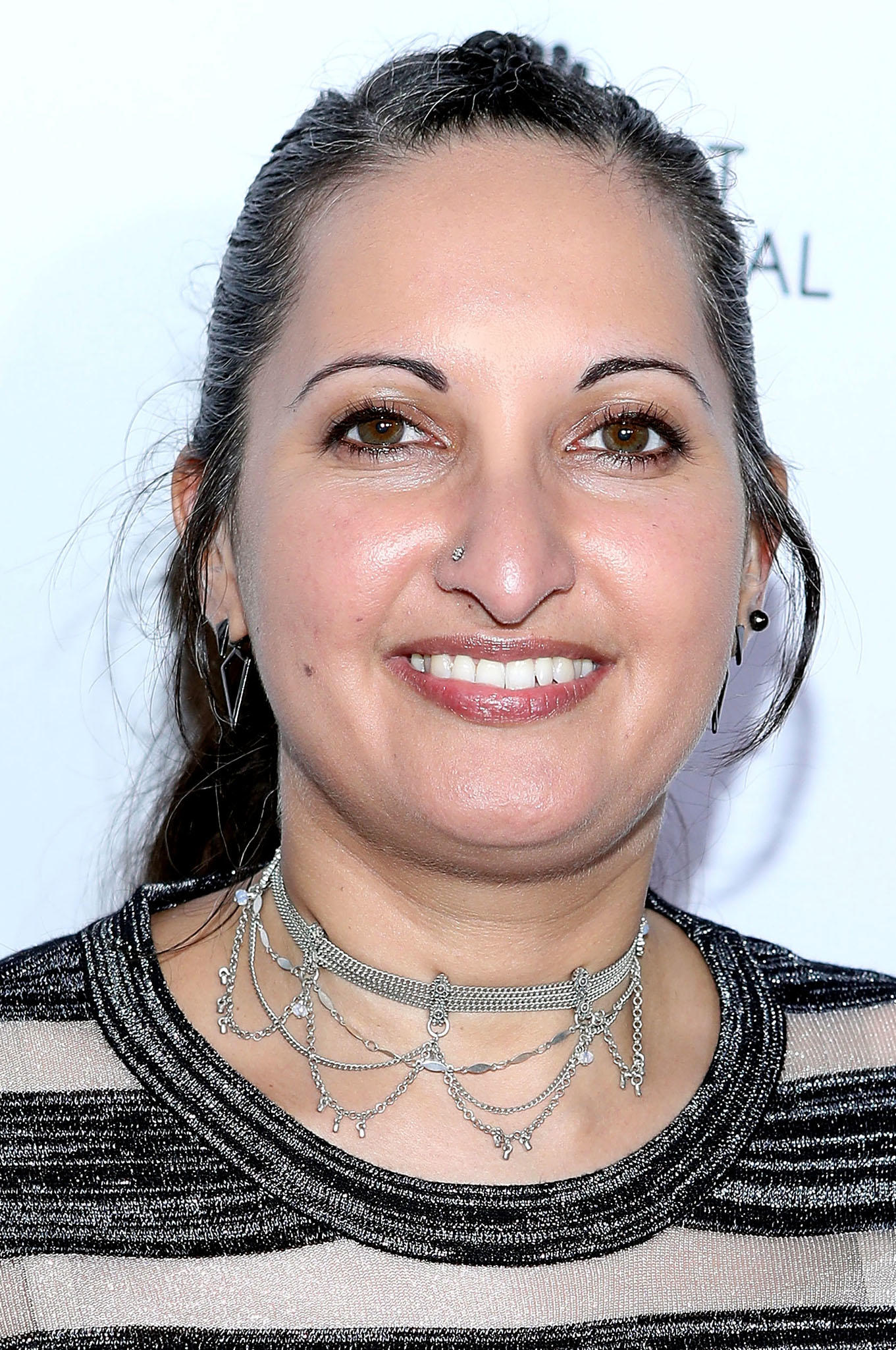 Lucy Mukerjee-Brown at the Outfest Fusion LGBT People of Color Film Festival in Los Angeles.