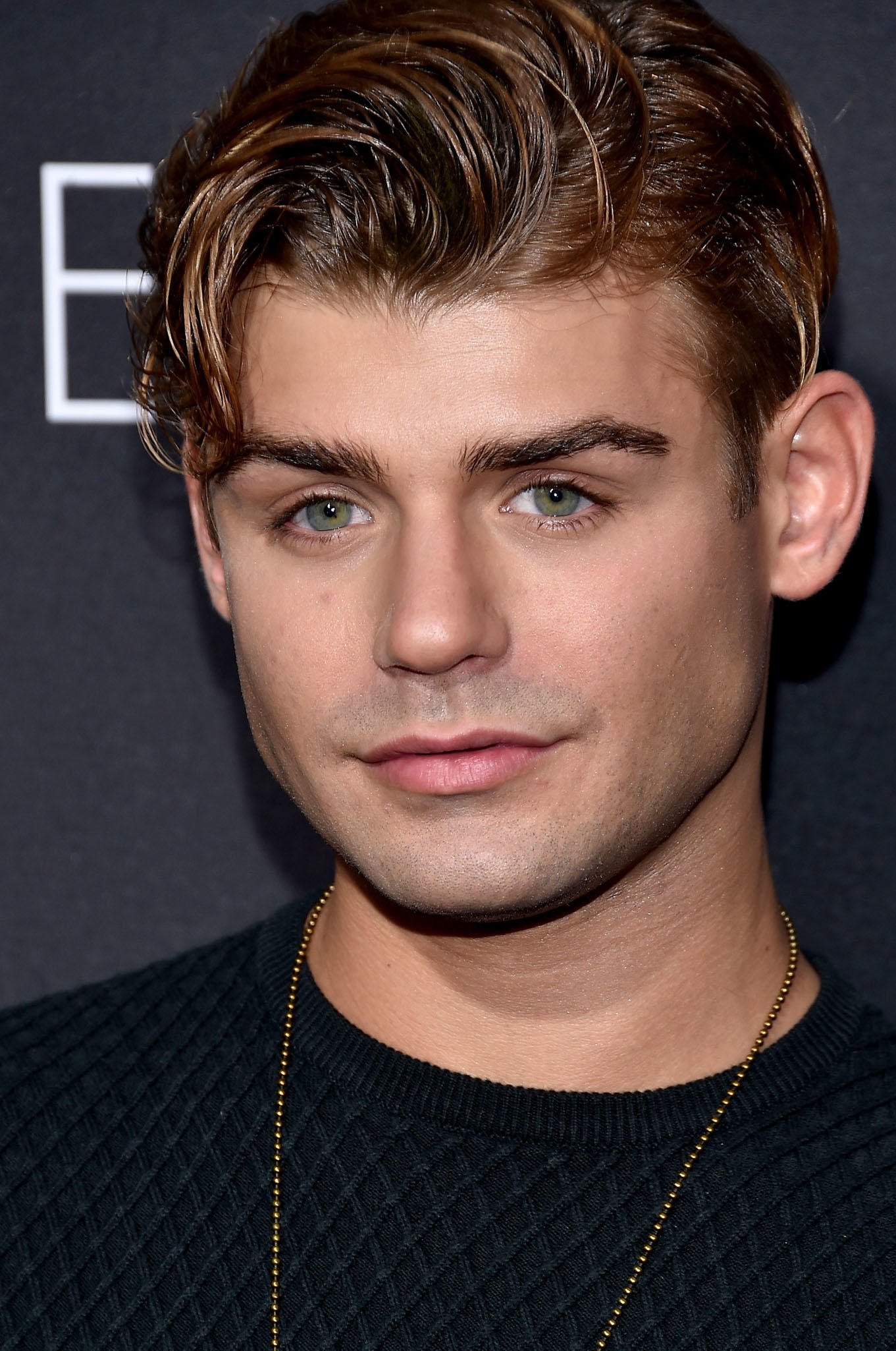 Garrett Clayton at the Hollywood premiere of