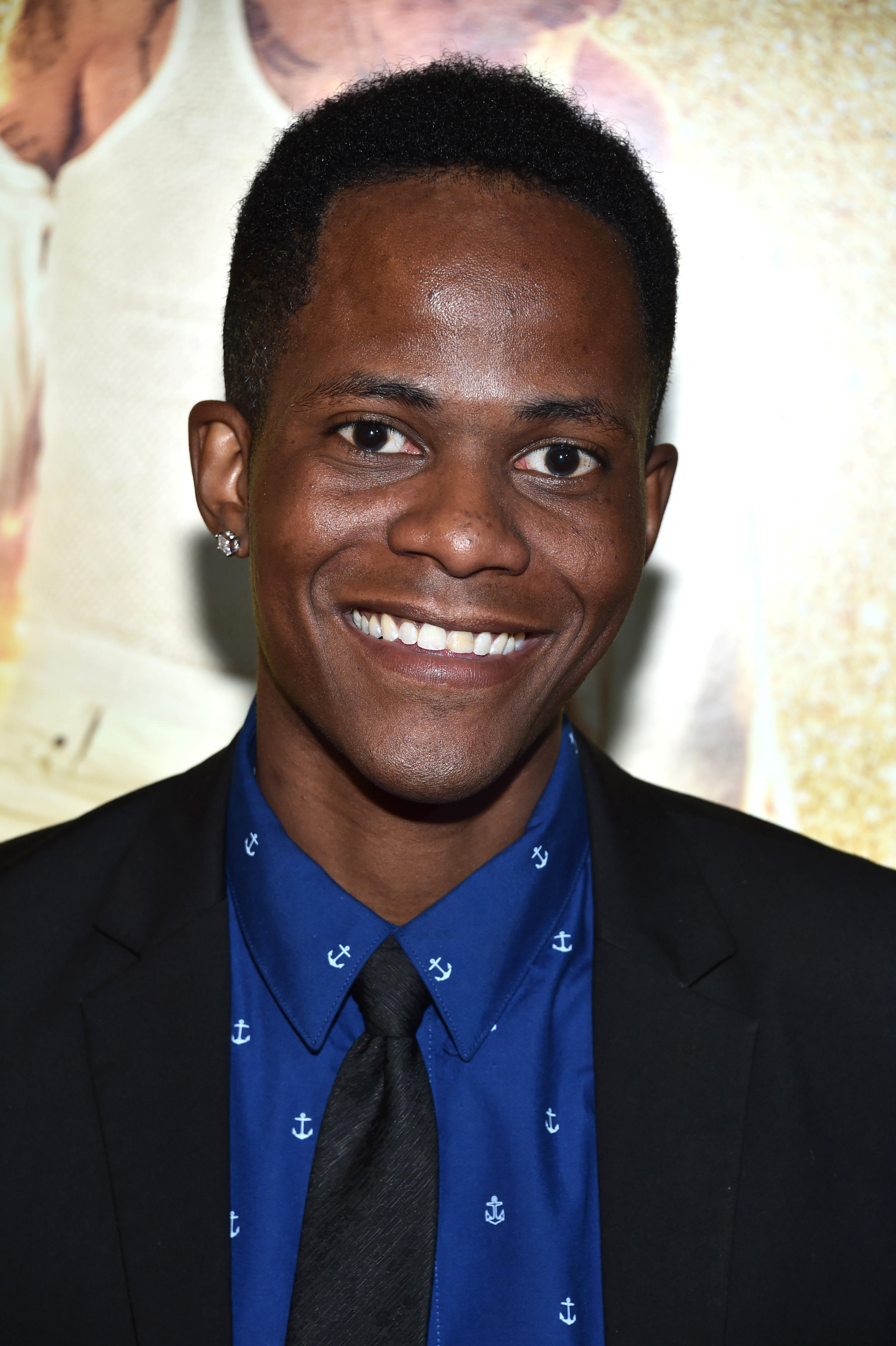 Edgar Blackmon at the New York premiere of