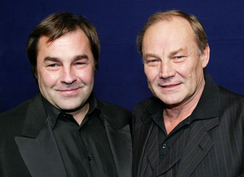 Klaus Maria Brandauer and son Christian at the Bambi awards in Hamburg.