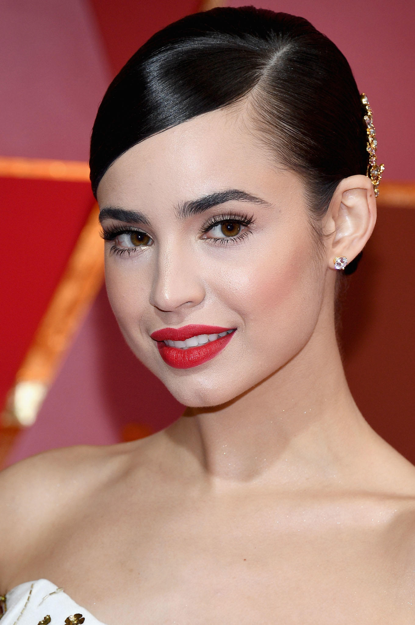 Sofia Carson at the 89th Annual Academy Awards in Hollywood.