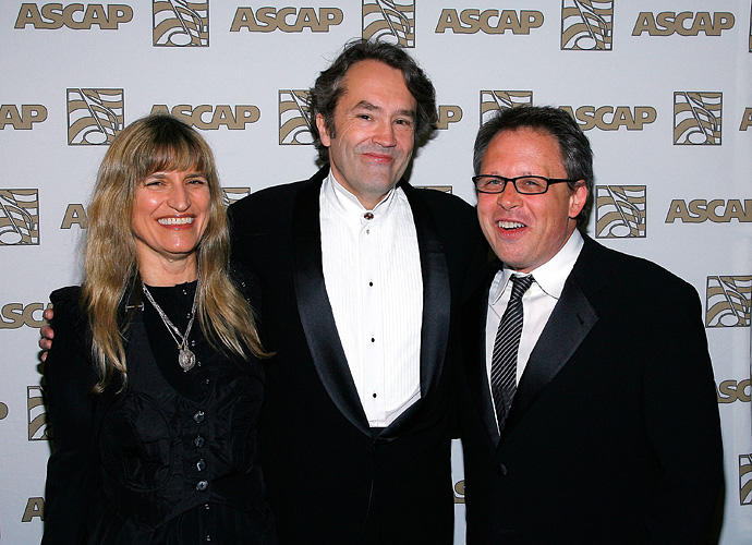 Director Catherine Hardwicke, Carter Burwell and director Bill Condon at the 24th Annual ASCAP Film and Television Music Awards.