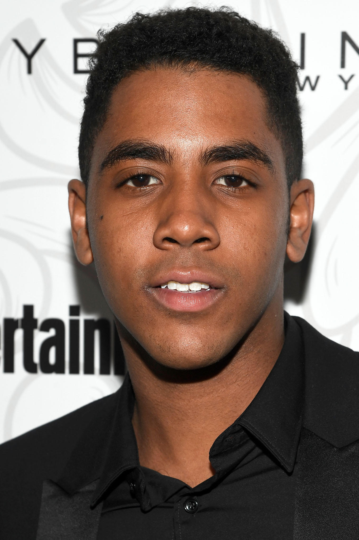 Jharrel Jerome at the Entertainment Weekly Celebration of SAG Award Nominees in Los Angeles.