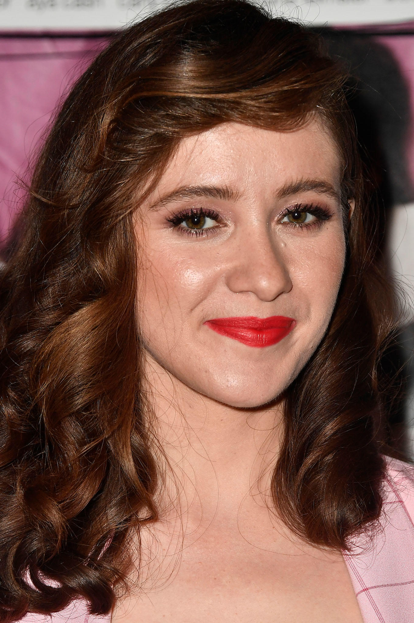 Noel Wells at the premiere of