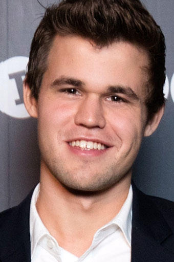 Magnus Carlsen at the 2015 World Chess Rapid and Blitz Championship in Berlin.