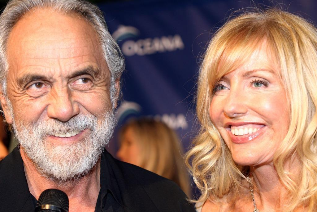 Tommy Chong and Shelby Chong at the home of Jena and Michael King for the Annual Oceana Partners Awards Gala.