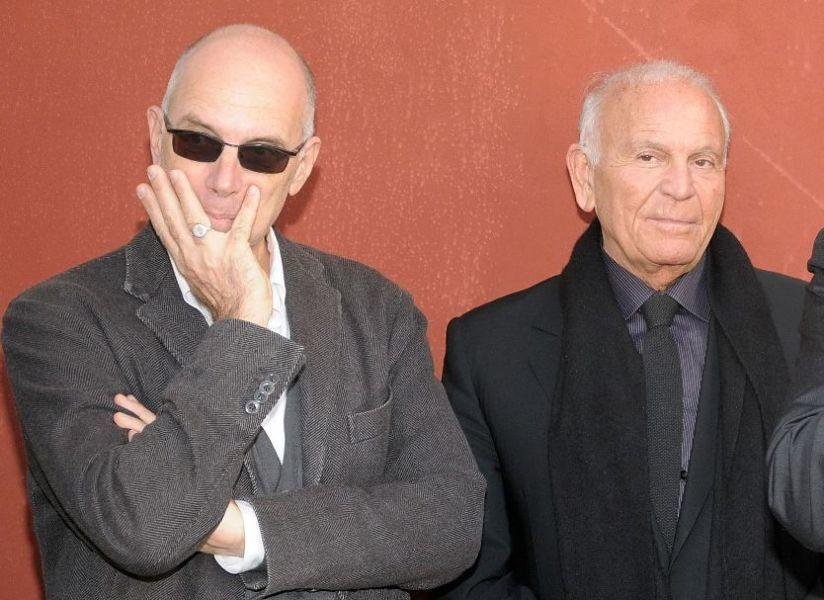 Gabriele Salvatores and Enzo G. Castellari at the Italian American 2010 Oscar Nominees Reception.