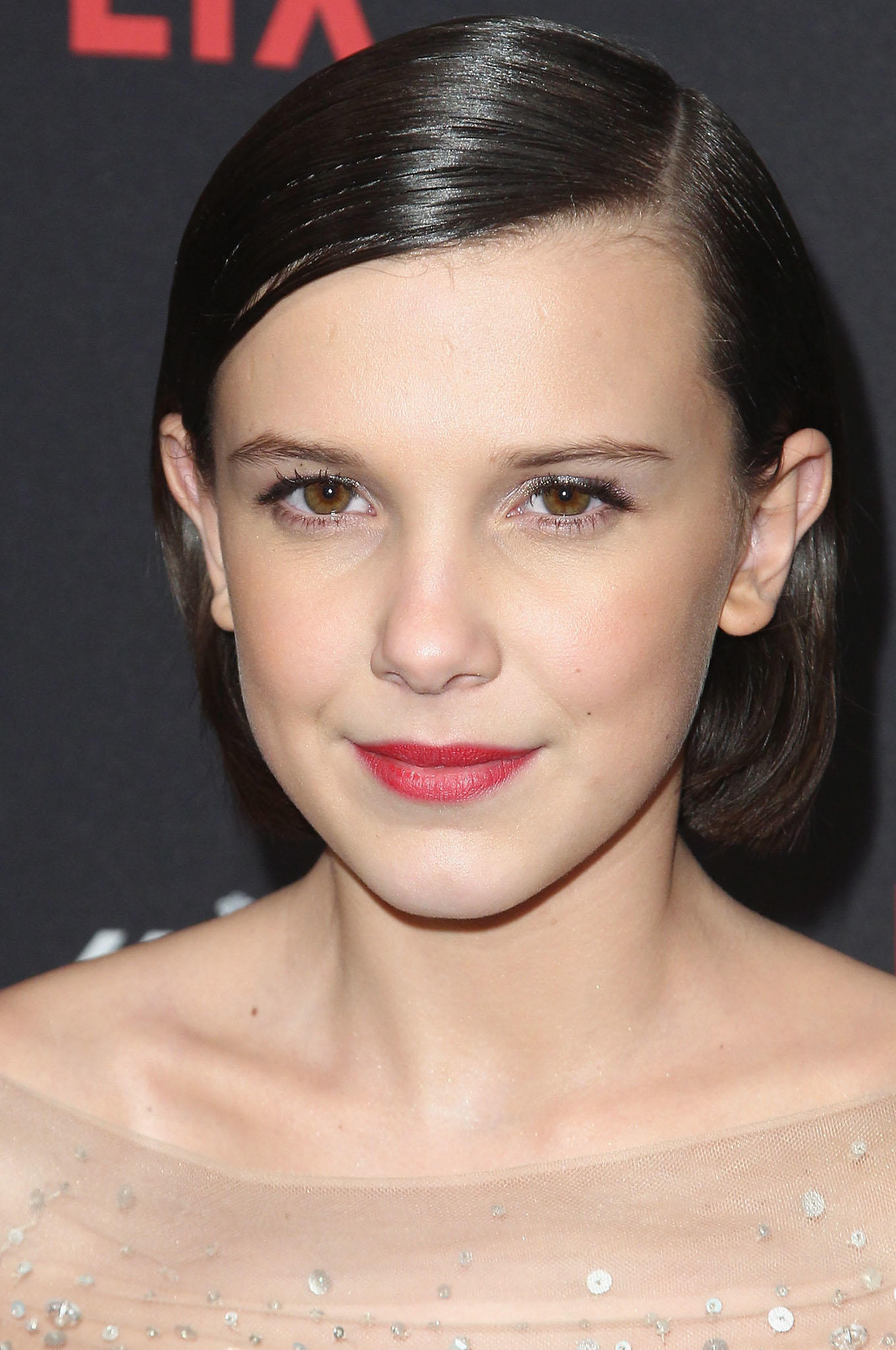 Millie Bobby Brown at The Weinstein Company and Netflix Golden Globe Party in Beverly Hills, CA.