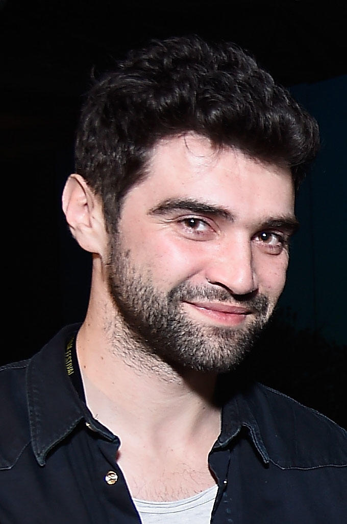 Alex Secareanu at the New Frontier Party for Filmmakers during the 2017 Sundance Film Festival.