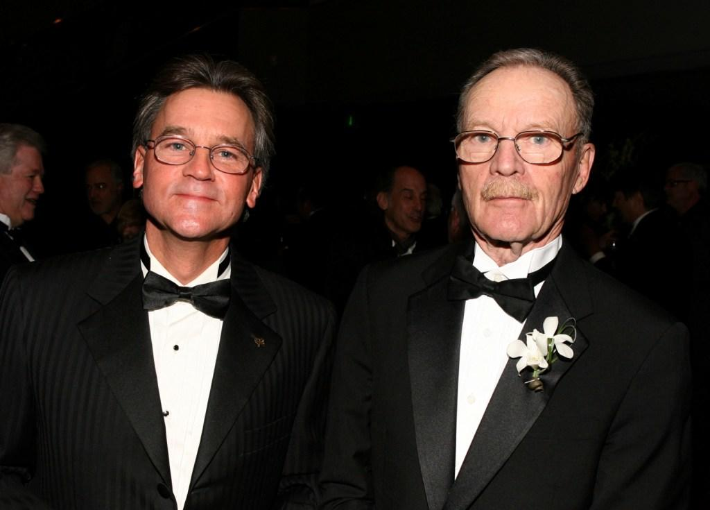 Michael Chapman and Dan Gold at the Society of Camera Operators 2008 Lifetime Achievement Awards.