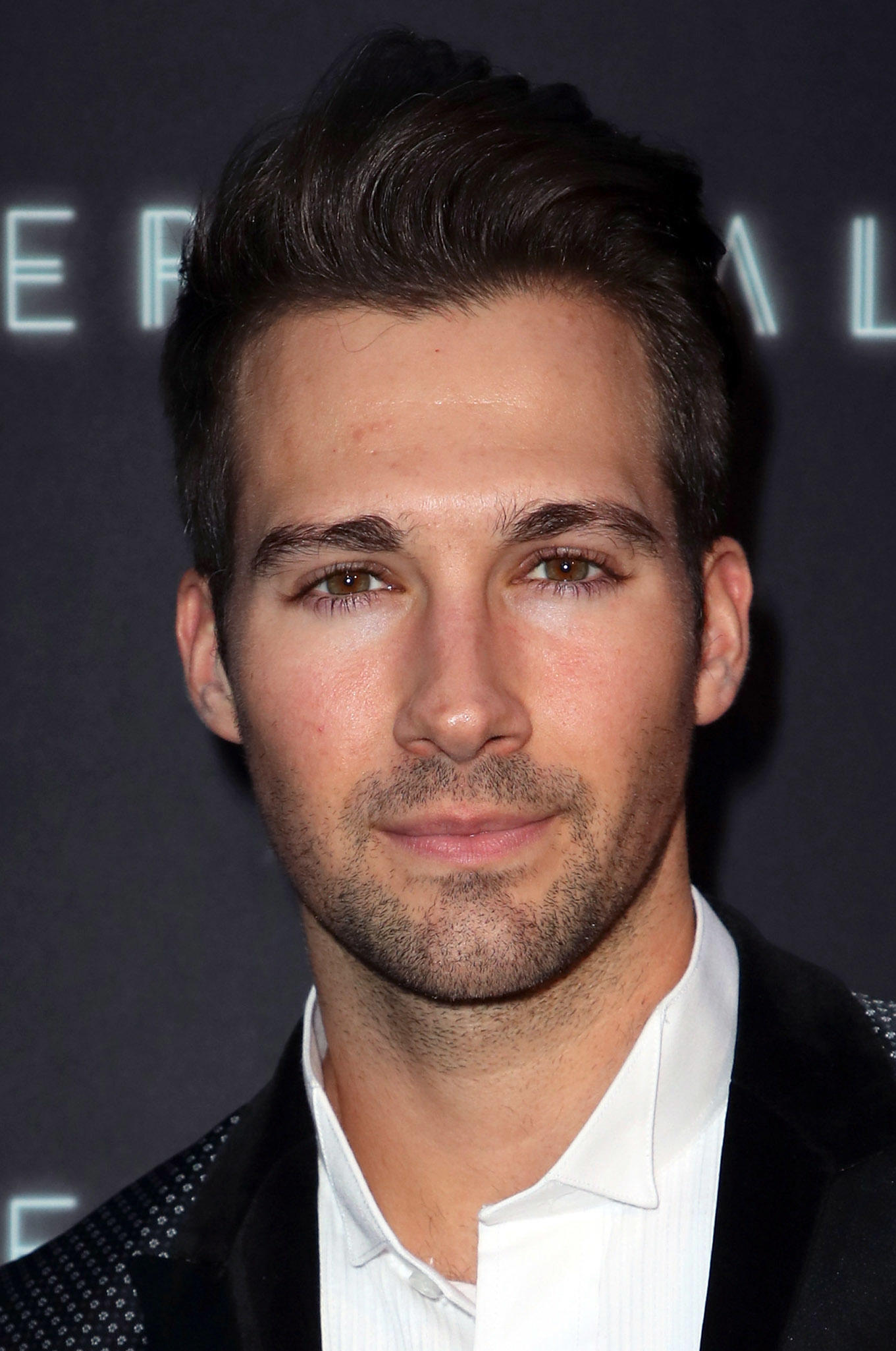 James Maslow at the premiere of