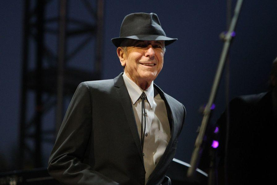 Leonard Cohen at the Coachella Valley Music and Arts Festival.
