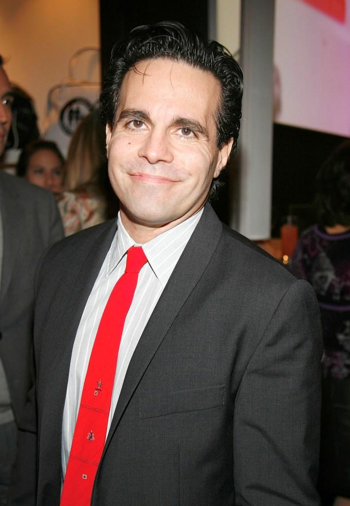 Mario Cantone at the launch of