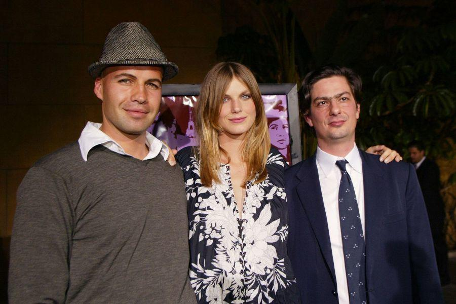 Billy Zane, Angela Lindvall and Roman Coppola at the premiere of